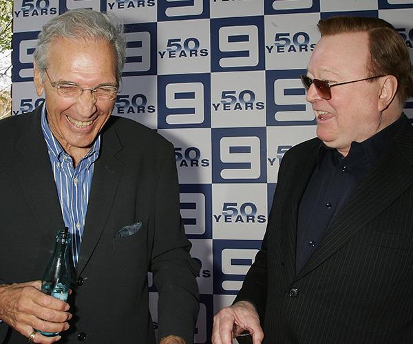 Don and Bert sharing a laugh in 2006.