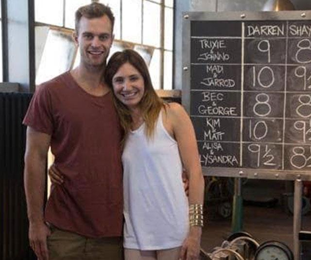 **Madi and Jarrod** <br><br> Despite fielding split rumours for months, 2013 couple Madi and Jarrod Coppock announced their divorce the year after they took home $291,000 in profit for their Melbourne apartment. Carpenter Jarrod was engaged to be married to his new partner in February last year, while Madi remarried in 2015 and gave birth to a daughter in July 2017.