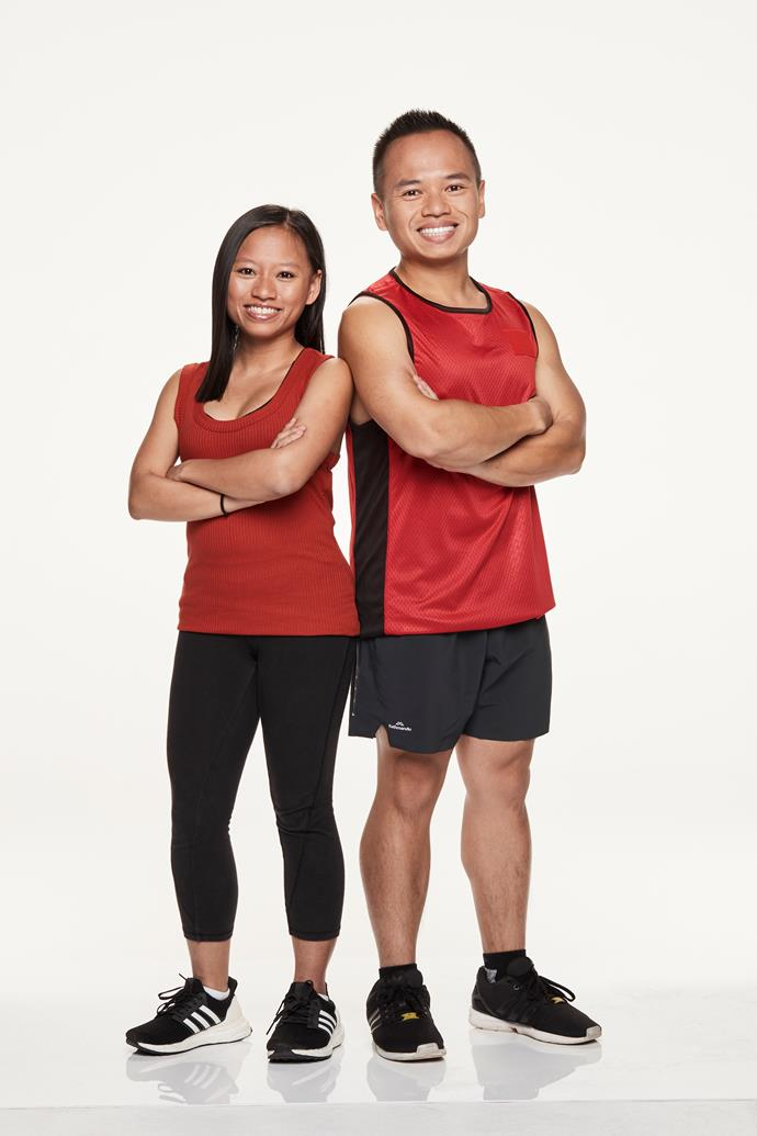 **PINT-SIZED SIBLINGS: VIV, 25, & JOEY, 28** <br><br> They may be small in stature, but this brother-and-sister team have the determination and positive attitude to get to the end.