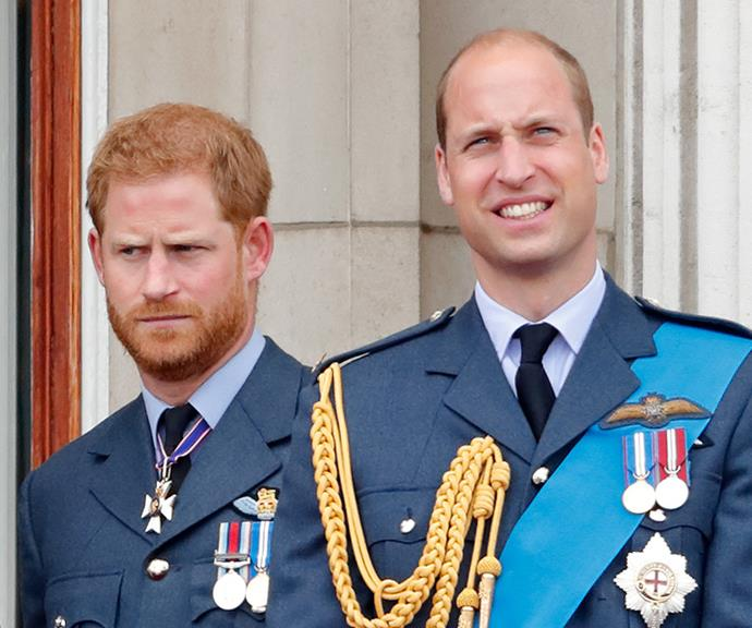 The royal brothers have also been at the centre of media scrutiny as rumours of a rift between them surfaced.