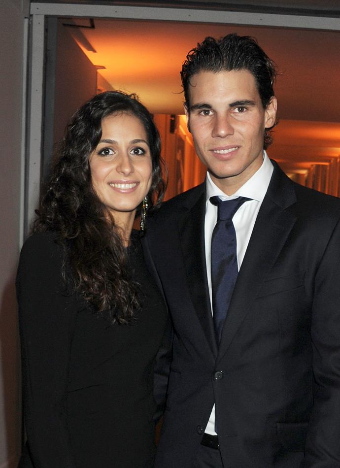 Tennis legend Rafael Nadal has married his long-term girlfriend Mery Perello.