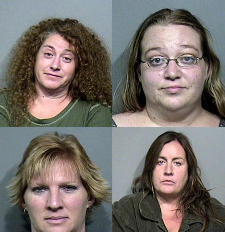 Michelle Belliveau (top left), Tracy Hood-Davis (top right), Wendy Sewell (bottom left) and Therese Ziemann (bottom right).