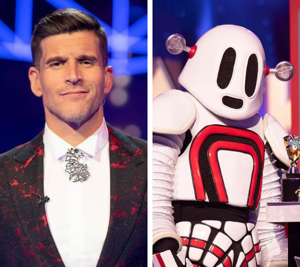 Osher's wife Audrey went into labour during Robot's reveal on *The Masked Singer*.