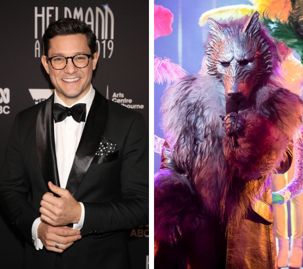 Rob Mills was unmasked as the Wolf on *The Masked Singer*.