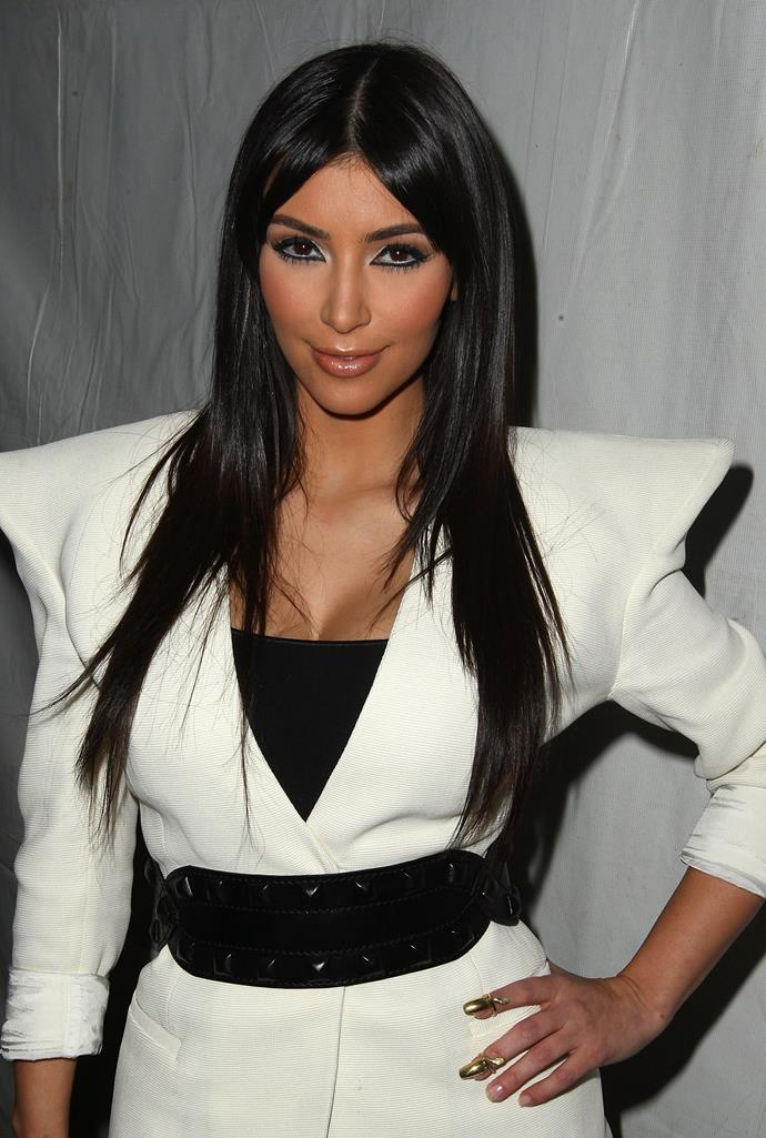 In 2009, we started noticing the *Keeping Up With The Kardashians* star looking a touch different.