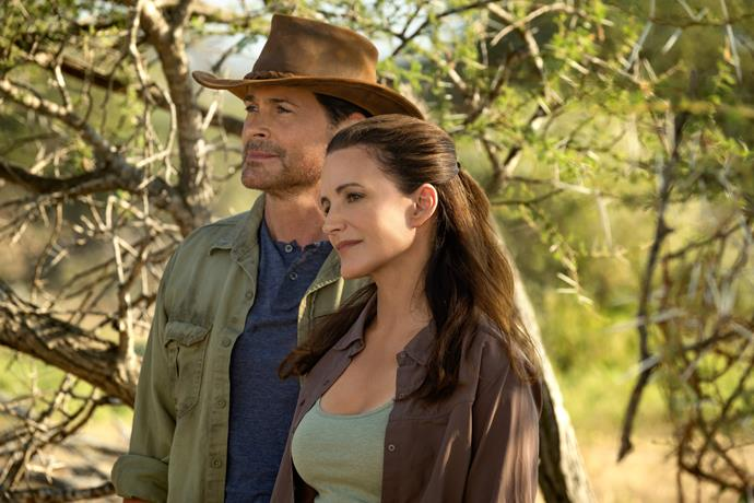 "**Holiday In The Wild (November 1)** <br><br> Do we want to see Kristin Davis and Rob Lowe fall in love in Africa? Yes, we do. In this atypical Christmas movie, Davis plays a a divorcée who embarks on a safari in Zambia where she rediscovers herself while working at a local elephant sanctuary. <br><br> The trailer boasts cheesy dialogue like ""A lot of people come here to get lost, so they can be found again"" and ""You're falling in love… with Africa."" <br><br> There's a 100% chance we'll watch this on repeat until Christmas... while also looking up luxe safari vacations. <br><br> **Watch the trailer below...**"