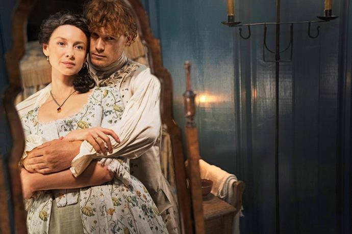 Claire and Jamie will be back on Netflix in November.