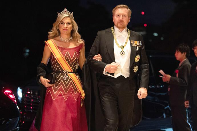 Queen Maxima of the Netherlands also looked incredible for the big event.