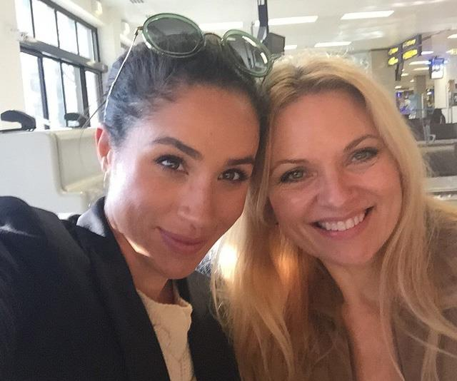 Meghan and Gina pictured together in June 2015, before Meghan met Prince Harry.