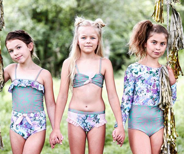 Olga Valentine swimwear is made from recycled ocean plastics. How cool is that!?