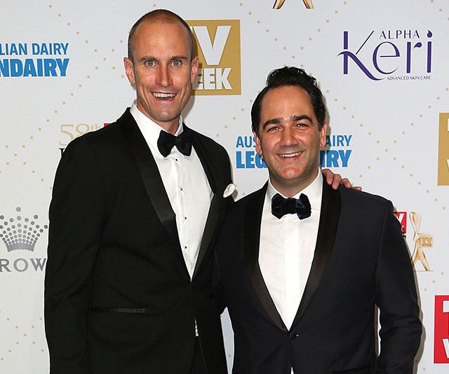 **NOW** <br><br> The former AFL player, 43, has forged a successful media career. He currently hosts Nova's breakfast show with Wippa.