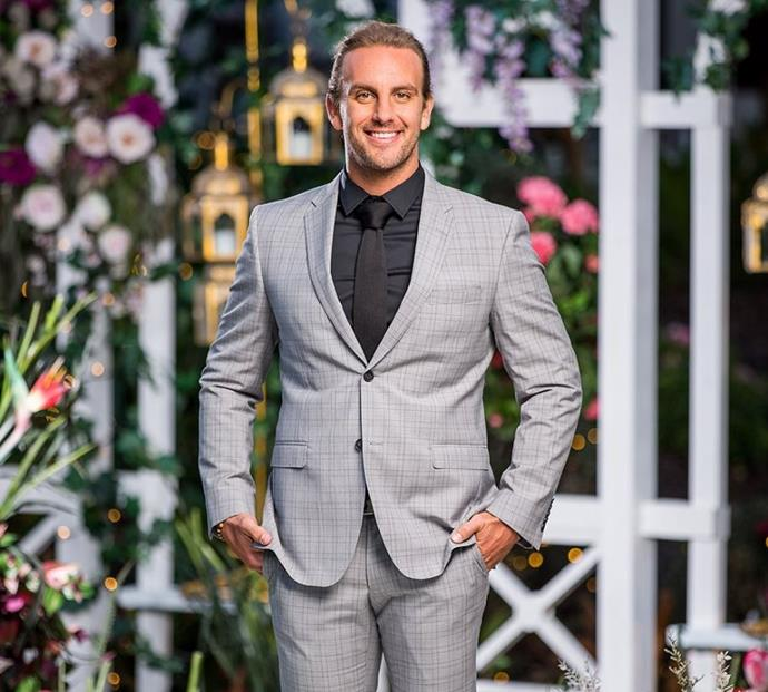 "**EPISODE FIVE:**  <br><br> [**ADAM SELLARS**](https://www.nowtolove.com.au/reality-tv/the-bachelorette-australia/bachelorette-jamie-doran-intense-59941|target=""_blank""). You describe yourself as a ""free spirit"" and now we know why. Because you're ""free"" from the show. If that wasn't clear..."