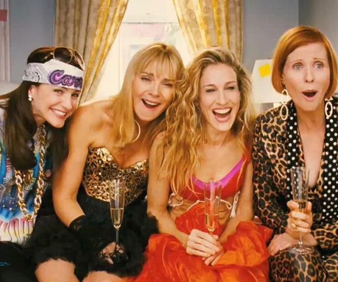 Friends forever! Charlotte (Kristin Davis), Samantha (Kim Cattrall), Carrie (Sarah Jessica Parker) and Miranda (Cynthia Nixon) were the ultimate squad goals!