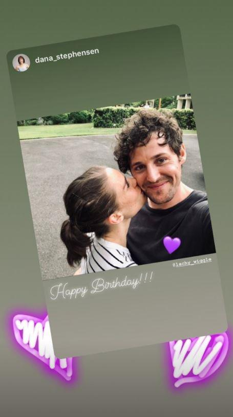 The two have reportedly been dating since August 2019.