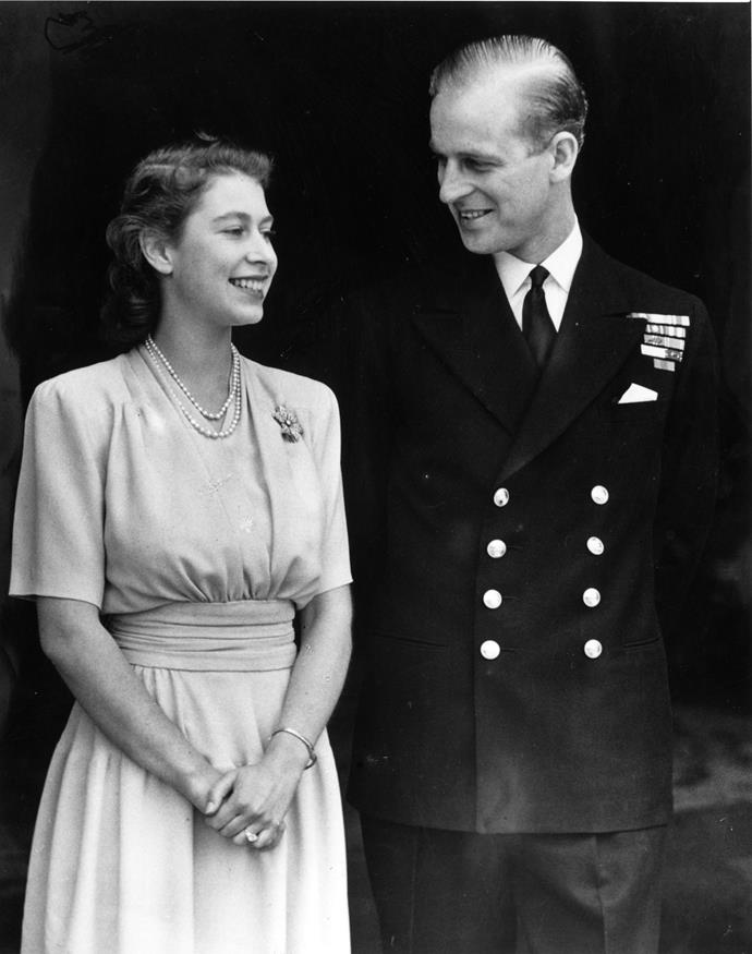 The Queen and Prince Philip have been married since 1947 but despite the formal requirements, their love was clear to see from the beginning. <br><br> Not only did the then Princess Elizabeth and her beau write love letters to one another for years before but Prince Philip proposed with a ring that was crafted using gems from a tiara that belonged to his mother, Princess Alice of Battenberg. Cute!