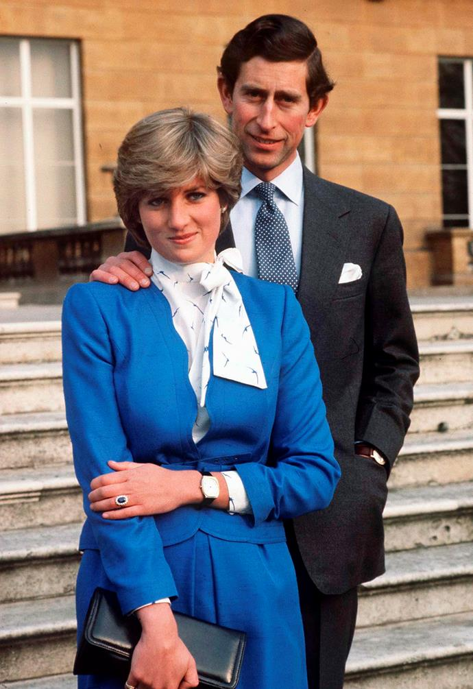 This one is a bit of an exception but seeing as Prince Charles and Princess Diana's marriage was far from romantic, you wouldn't expect a very romantic proposal. <br><br> The heir to the throne reportedly popped the question at a private dinner at Buckingham Palace before the then-Lady Diana Spencer went to Australia with a diamond and sapphire engagement ring that now belongs to Duchess Catherine.