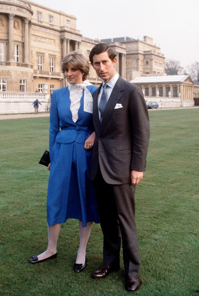 """While being interviewed for her infamous biography *Diana: Her True Story*, Diana described the moment to Andrew Morton <br><br> """"[Charles] said, 'Will you marry me?' and I laughed,"""" Diana said. """"I remember thinking, 'This is a joke,' and I said, 'Yeah, OK,' and laughed. He was deadly serious. He said, 'You do realise that one day you will be queen?' And a voice said to me inside, 'You won't be queen, but you will have a tough role . . .' 'Yes,' I said, 'I love you so much, I love you so much.' He said, 'Whatever love means.' . . . and so he ran upstairs and rang his mother."""""""