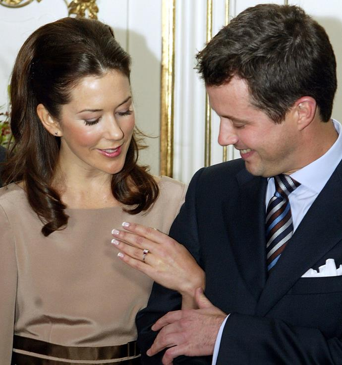 """Prince Frederik took his Australian girlfriend Mary Donaldson to Rome to ask for her hand in marriage, and shared details of the proposal in his biography, *Frederik - Crown Prince of Denmark*.  <br><br> """"I had decided that I'd propose to Mary in Rome and had also organised an engagement ring and made sure that I was able to be alone with her,"""" he said. <br><br> """"It just worked perfectly. Not just because I wanted to go down on my knee but I did, it's the right way to do it. And then I just said, 'You cannot say no, you must not say no, you'll have to say yes.' And then she said yes and it was beautiful and happy. We were happy and just the two of us."""""""