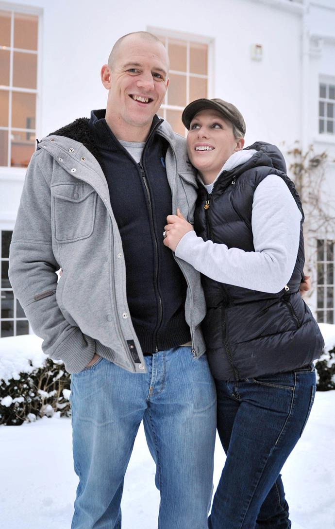 Mike Tindall proposed to his royal girlfriend of seven years Zara Phillips as they watched *X-Men* together at their Gloucestershire home shortly before Christmas in 2010. <br><br> Speaking of the proposal, Zara was reportedly shocked but obviously said yes...after she stopped laughing.