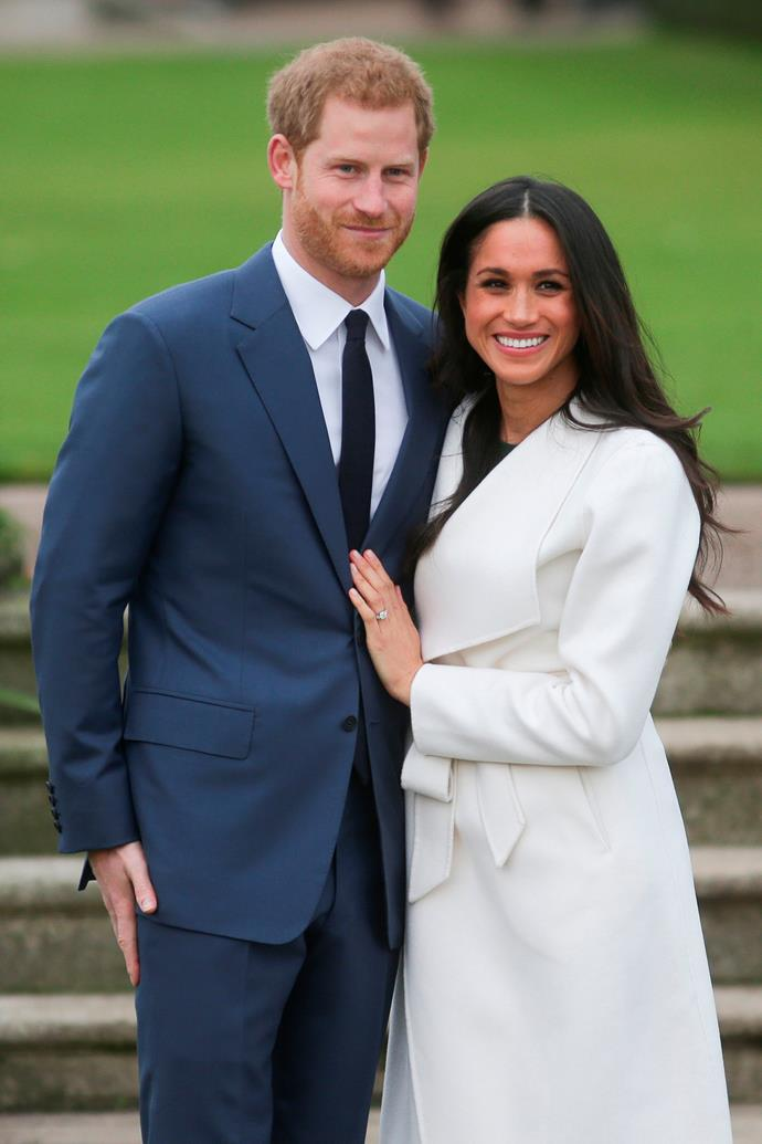 """It was just a """"standard typical night"""" for Prince Harry and Meghan Markle at their home of Nottingham Cottage in Kensington Palace when the red-headed royal proposed.  <br><br> In their official engagement interview, the couple revealed that they were """"trying"""" to roast a chicken when Harry caught Meghan by surprise and went down on one knee. In fact, Harry could barely get the words out with Meghan asking """"Can I say yes now?"""""""