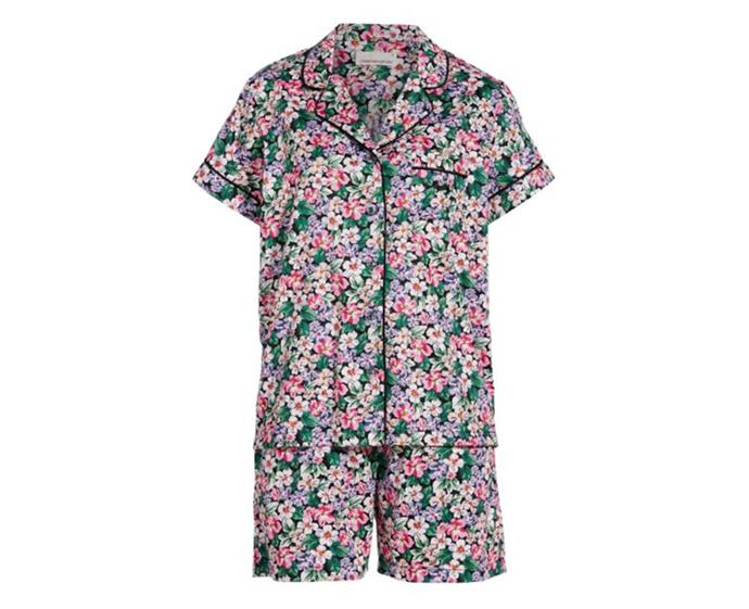 "Classic Floral Short Sleeve Pj Set by [Peter Alexander](https://www.peteralexander.com.au/shop/en/peteralexander/women/style/sets/classic-floral-short-sleeve-pj-set?colour=MULTI|target=""_blank""
