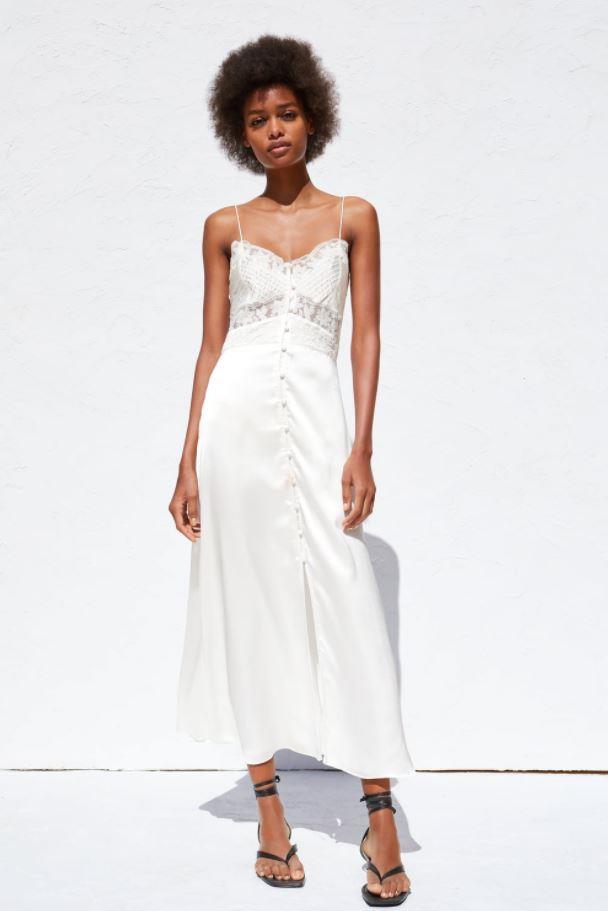 "ZARA satin camisole dress, $69.95. [Buy it online here](https://www.zara.com/au/en/satin-camisole-dress-p00881110.html|target=""_blank""|rel=""nofollow"")."