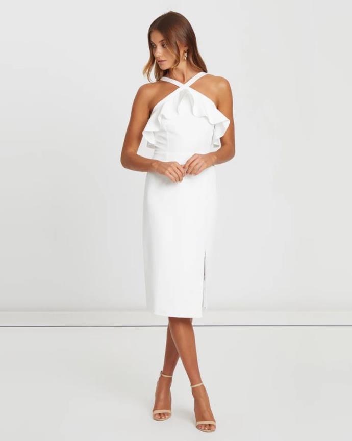 "CHANCERY azalea cocktail dress, $129.95. [Buy it via The Iconic here](https://www.theiconic.com.au/azalea-cocktail-dress-837236.html|target=""_blank""|rel=""nofollow"")."