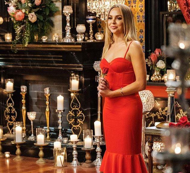 "In episode six, Angie wore a [ravishing red dress](https://www.nowtolove.com.au/reality-tv/the-bachelorette-australia/the-bachelorette-angie-parents-59958|target=""_blank""), proving she's every bit the sassy siren we know and love her to be."