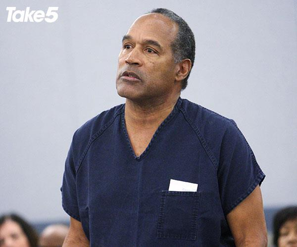 OJ was back in court in 2008 on different charges.