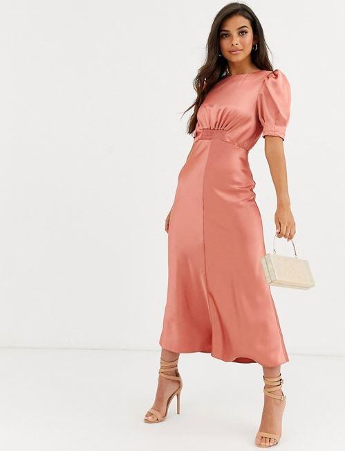 "ASOS DESIGN satin midi tea dress, $76. [Buy it online here](https://www.asos.com/au/asos-design/asos-design-satin-midi-tea-dress/prd/12656167|target=""_blank""|rel=""nofollow"")."