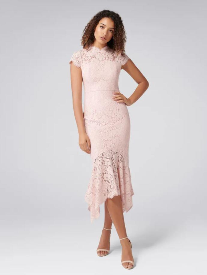 """Forever New frankie petite lace maxi dress, $169.99. [Buy it online here](https://www.forevernew.com.au/frankie-petite-lace-maxi-dress-260681