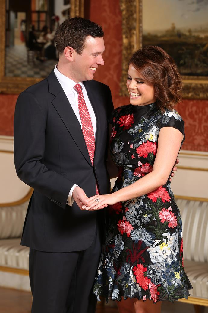 """Princess Eugenie and Jack Brooksbank became engaged in Nicaragua, Central America, and Eugenie even admitted she cried when her now-husband popped the question <br><br> """"The lake was so beautiful, it was a special light and I even said 'this is an incredible moment' and then he popped the question, which was really surprising even though we had been together seven years. It was the perfect moment because we knew it was going to end up this way."""""""