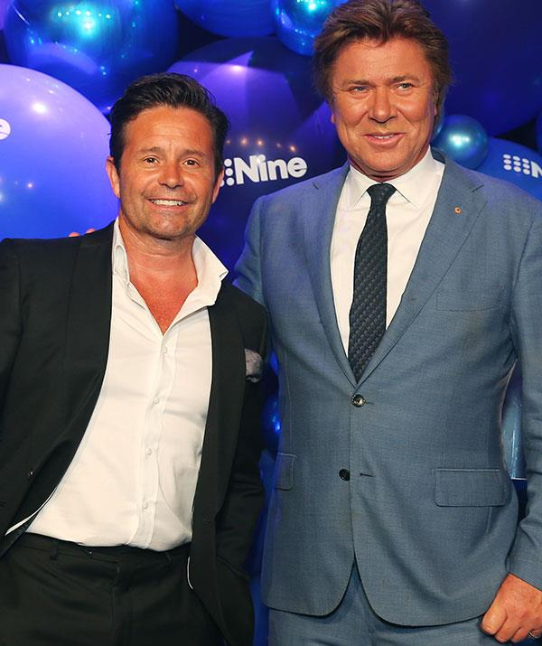 Steve Jacobs poses with Richard Wilkins.