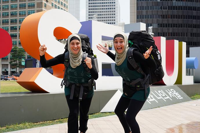 Muslim mother-and-daughter duo Rowah and Amani.