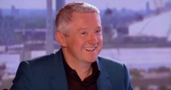 """If I smile, I won't laugh..."" Louis Walsh doesn't know what to think..."