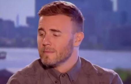And Gary Barlow can't even look.