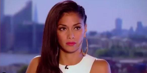 """Not happy, Jan."" Nicole Scherzinger is tres unimpressed."