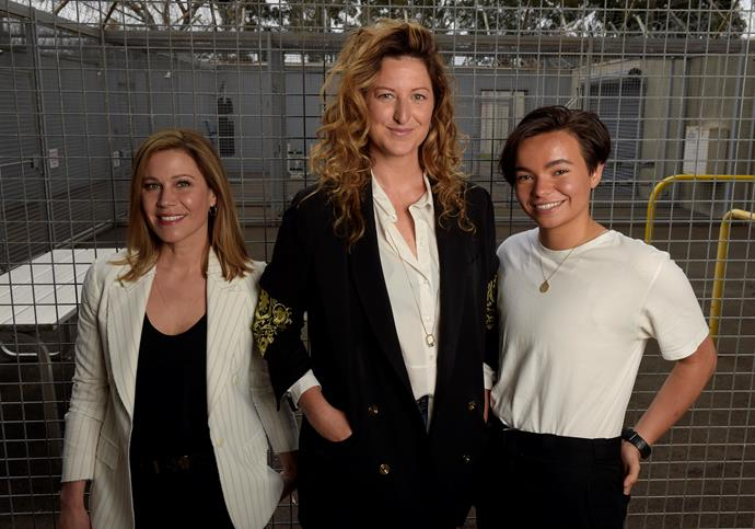 Jane Hall, Kate Box and  Zoe Terakes join the cast of Wentworth!