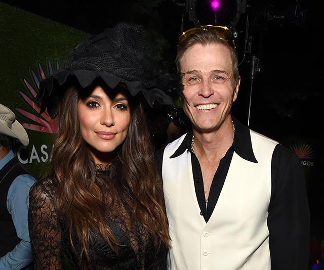 Pia appeared to go public with Hollywood agent Patrick Patrick Whitesell.