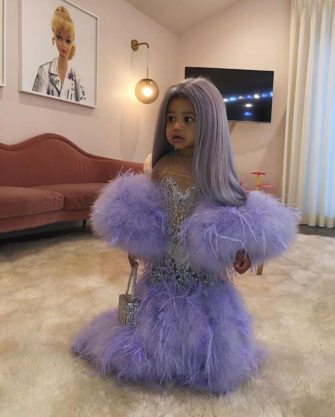 Rise and shine Stormi! Kylie Jenner dressed her one year-old as...herself at this year's Met Gala.