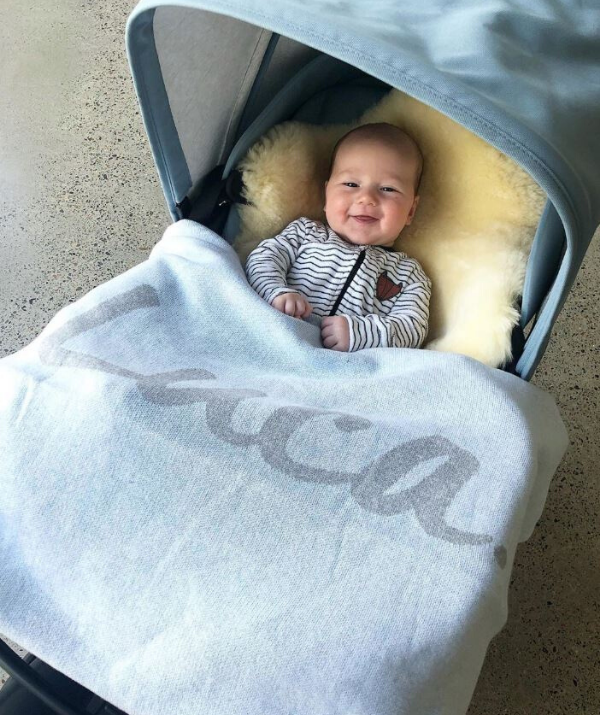 "**Nikki Phillips son Luca with his name blanket** This has to be up there with one of the most thoughtful gifts you can buy for a baby. Television host and model, Nikki Phillips son Luca looks pretty happy with his [NamelyCo Personalised Name Blanket](https://namelyco.com/|target=""_blank""