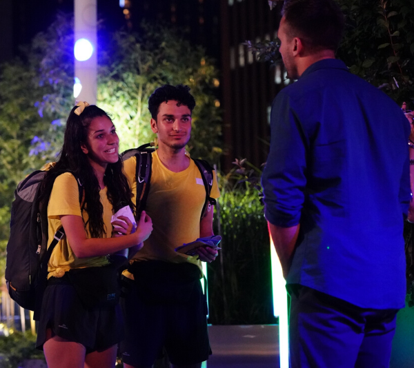 Alana and Niko were the first team eliminated on *The Amazing Race Australia*.