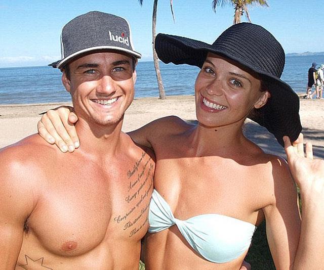 Warren Riley (left) was heartbroken when his fiancee Lauren allegedly cheated on him with Beau.