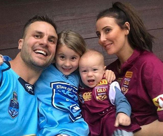Beau and Kara with daughter Remi and son Jesse.