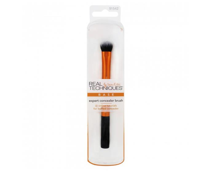 """**Expert Concealer Brush by Real Techniques, $17.99 at [Priceline](https://www.priceline.com.au/real-techniques-expert-concealer-brush-1-ea
