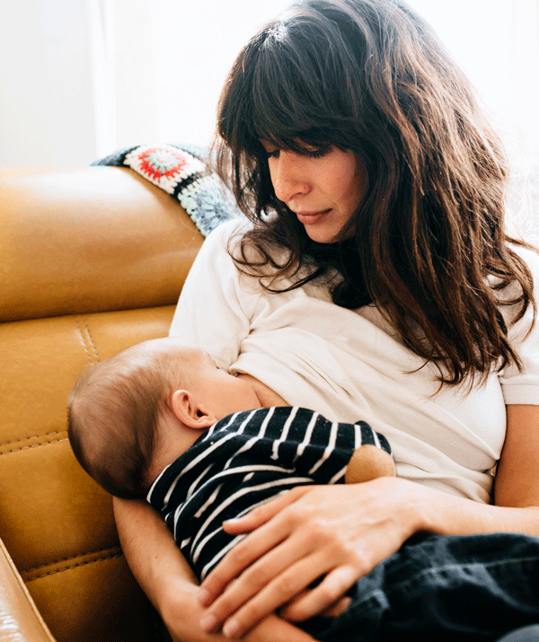 While you're breastfeeding, your body requires about 500 extra calories per day.