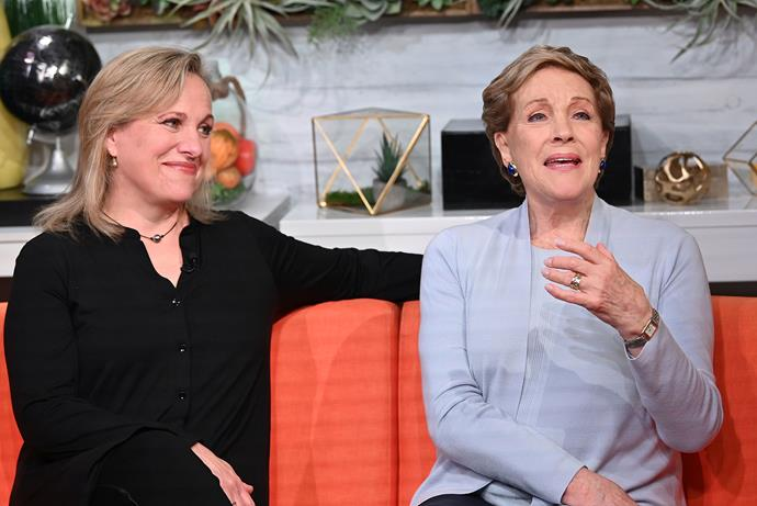 Emma and Julie promoting *Home Work* on US television earlier this month.