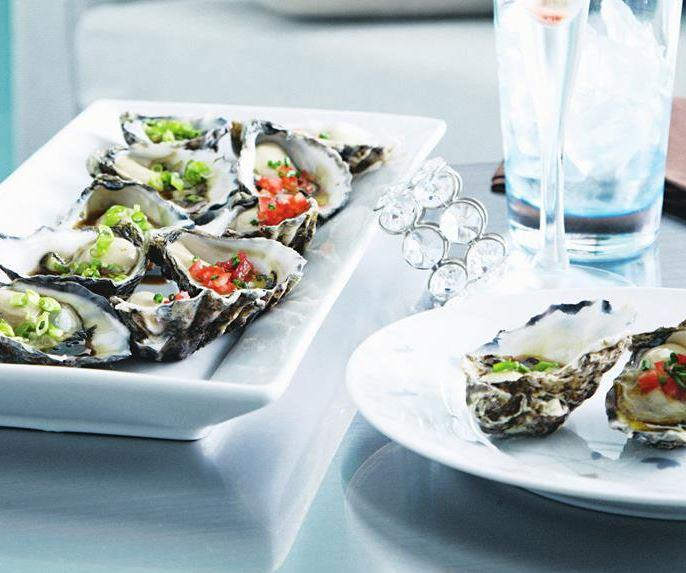 """These **oysters with either wasabi soy or tomato chive dressing** are a fresh and fragrant addition to your spread. [Get the recipes here.](https://www.womensweeklyfood.com.au/recipes/oysters-with-two-dressings-11572