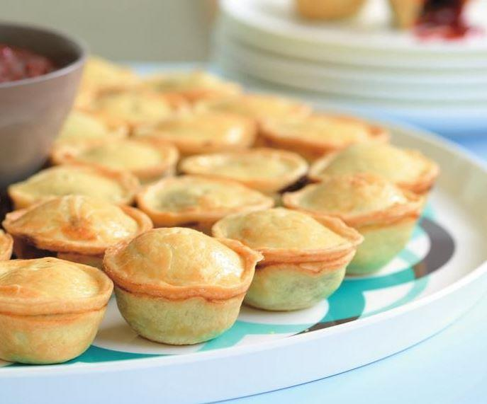 """These aren't just party pies, they're **beef and Guinness pies.** [Get the recipe here.](https://www.womensweeklyfood.com.au/recipes/mini-beef-and-guinness-pies-12087