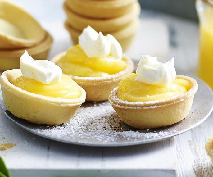 """Not only are these **lemon curd tarts** delicious, but lemon curd can be made ahead and will keep for several weeks in the fridge. [Get the recipe here.](https://www.womensweeklyfood.com.au/recipes/lemon-curd-tarts-11838